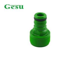 "China 1/2"" BSP Standard Plastic Garden Hose Adapter Garden Pipe Fittings supplier"