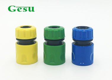 China Small ABS Hose Joint Connector / Washing Garden Hose Quick Coupler supplier