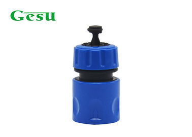 "China 1/2"" Plastic Garden Hose Connectors with Water Stop Suitable for PVC Pipe supplier"