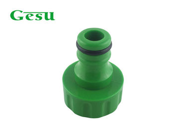 China Female Thread Garden Hose Tap Connector For Lawn Irrigation Green Color supplier