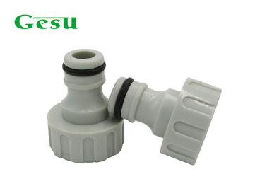 China Lightweight Plastic Garden Hose Adapter With Connect Tap Long Service Life supplier