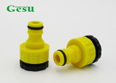 "Plastic Water Hose Connector With BSP Thread Fit 1/2"" or 3/4"""