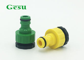 China Garden Water Tap Connector / Garden Tap Hose Connector Customized supplier