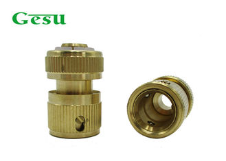 China PP Clip Brass Garden Hose Connectors Water Valve Or Faucet Fittings supplier