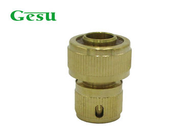 China Custom Brass Quick Connect Hose Fittings , Garden Hose Replacement Parts supplier