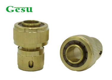 China Brass Quick Connect Garden Hose Fittings / Brass Water Hose Connectors supplier