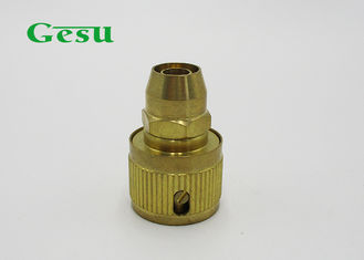 "China 9mm 3/8 "" PVC Quick Connect Fittings Brass Water Hose Quick Connect supplier"
