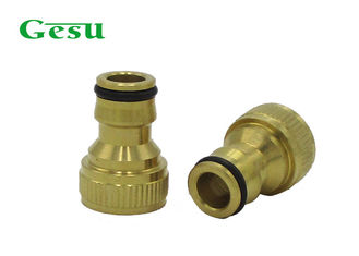 China Screw Into Male Garden Hose To Faucet Adapter Hose Pipe Attachments For Taps supplier