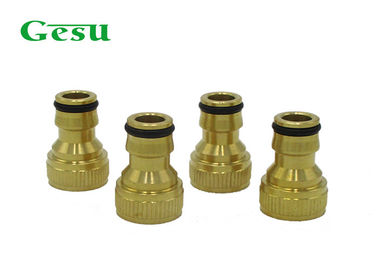 Water Pipe Quick Brass Thread Adapter Garden Tap To Hose Connector