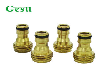 China Heavy Duty Male Brass Thread Adapter For Spray Guns , Sprinklers Lances supplier