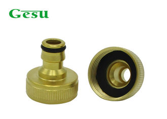 China Corrosion Resistant Brass Thread Adapter For Home And Garden Irrigation supplier