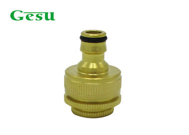 "China Faucet Garden Hose Attachment Hose Adapter For Indoor Taps 1/2 "" 3/4 "" To 1"" Inner Thread supplier"