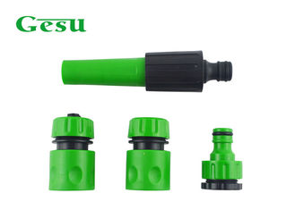 "Adjustable Spray Nozzle Set with Tap Connector and 1/2"" Quick Connectors"
