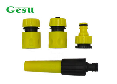 China Starter Spray Nozzle Set GESU Garden Pipe Fittings With Spray 3 Pcs Connector supplier