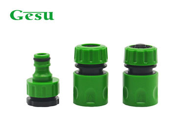 China Plastic Garden Hose Connector Set Consists Of 3 Joints BSP Threaded supplier