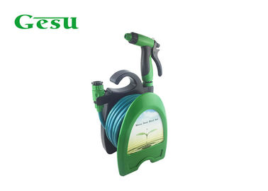 Mini Garden Hose Reel Set With ABS Sprayer Gun , Hose Reel For Garden Hose