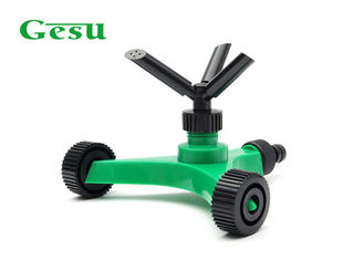 Three Arm Rotating Spike Lawn Sprinkler Made Of ABS And PP Easily Install