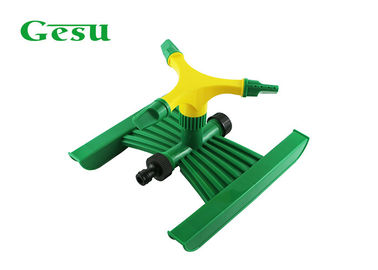 China 3 Arm Rotating Lawn Sprinkler Attachment 3 Nozzles Watering Grass Flowers Hose supplier