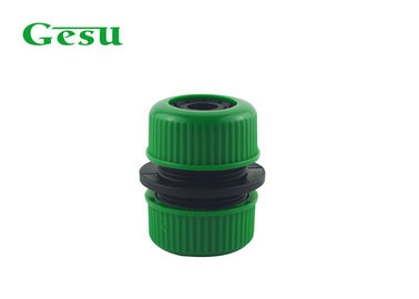 China ABS And PP Plastic Garden Hose Connectors Water Hose Mender Green Black supplier