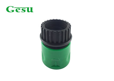 China Quick Detachable Plastic Garden Hose Connectors 3/4 inch Female Thread supplier