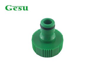 China 1 Inch Plastic Garden Hose Adapter With BSP Thread Water Connector supplier