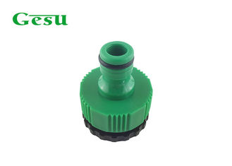 1 Inch To 3/ 4 Inch Plastic Garden Hose Adapter , Faucet To Garden Hose Adapter