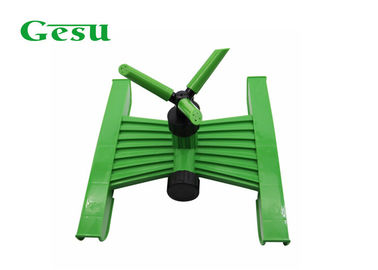 China Three Arm Rotating Lawn Sprinkler With H Base , Vortex Automatic Lawn Sprinkler supplier