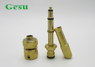 China Adjustable Brass Spray Nozzle Set With 1 / 2 Inch Quick Hose Connector supplier