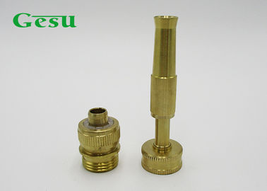 "China 3/4"" Thread Connector Spray Nozzle Set Brass Twist Hose Nozzle For Garden Irrigation supplier"