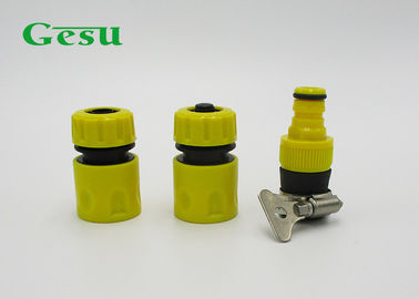 China 3PCS PVC Hose Connector Set Fast Coupling Adapter For Irrigation Hose supplier
