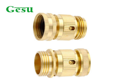 Rust Proof Hose Connector Set ANSI Or BSP , Brass Hose Quick Connectors Set