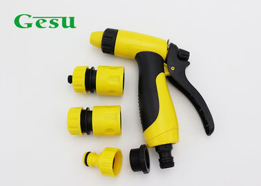 China Lightweight Water Hose Metal Nozzle Set / Garden Hose Nozzle Attachments supplier