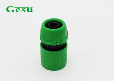 China Customized Size Plastic Garden Hose Connectors With Deep Screw Cap supplier