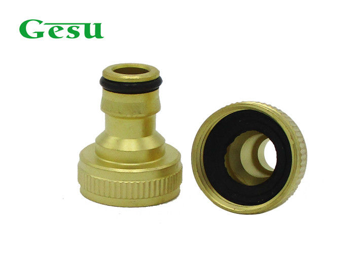 """Brass Garden Hose Tap Connector 3//4/"""" Faucet Nozzle Quick Connect Adapter Pipe US"""