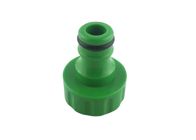Female Thread Plastic Garden Hose Adapter For Lawn / Garden Irrigation
