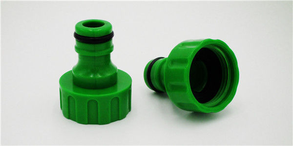 Female Thread Garden Hose Tap Connector For Lawn Irrigation Green Color