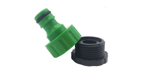 "Garden Water Hose Connectors Hose Tap Adapter With 1/2"" - 3/4"" BSP Thread"