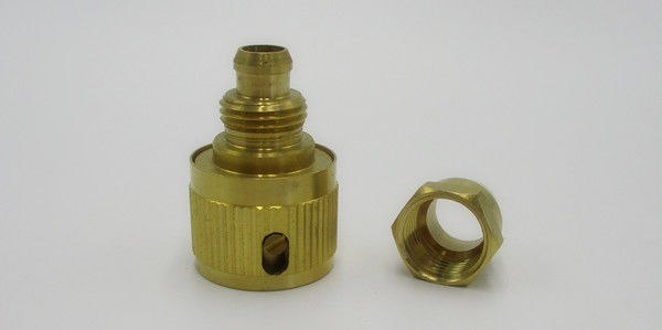 "9mm 3/8 "" PVC Quick Connect Fittings Brass Water Hose Quick Connect"