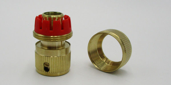 PP Clip Brass Garden Hose Connectors Water Valve Or Faucet Fittings