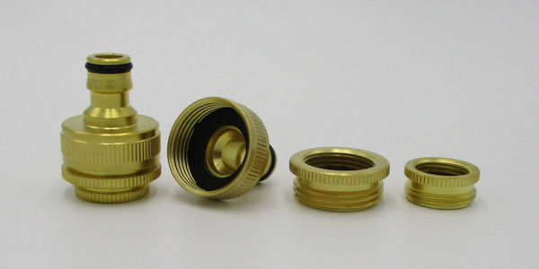 Water Female Brass Thread Adapter 1/2 inch 3/4 inch to 1 inch Garden Pipe Fittings