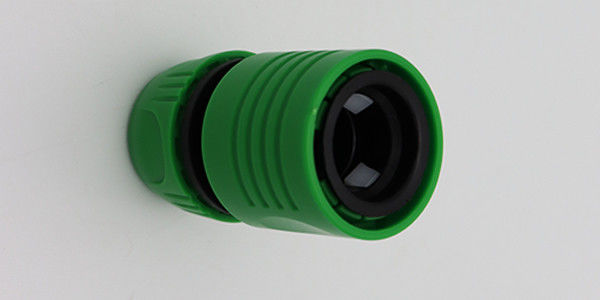 Household Garden Hose Reel Connector / ABS Water Stop Hose Connector