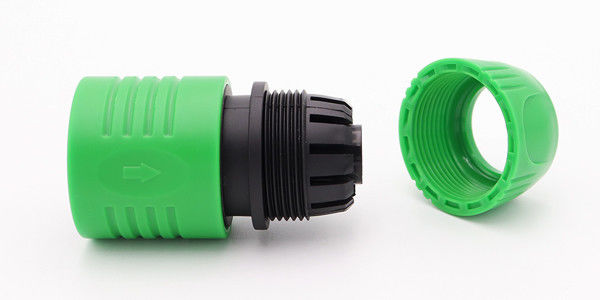 Compact Hose Lock Tap Connector , High Pressure Washer Hose Connector